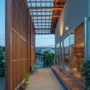 小田井の住宅の写真 通りみち夕景