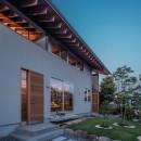 小田井の住宅の写真 南側エントランス夜景