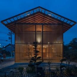 小田井の住宅 (東側夜景)