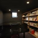 名古屋市H邸~STEP HOUSEの写真 音楽室