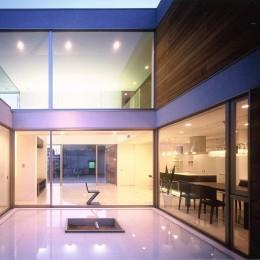 岡崎市O邸~水盤と花火が見えるテラスがある開放感あふれる住宅