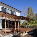 sanno housingの住宅事例「「薪ストーブのぬくもりが家と家族を包み込む」邸宅」