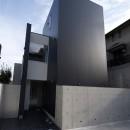 名古屋市T邸~幾つもの外部空間を内包する家の写真 エントランス