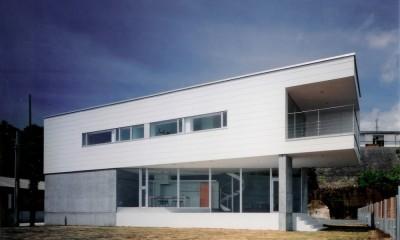 日立市S邸~全室から海を眺望できる別荘 (RC造と鉄骨造の混構造)