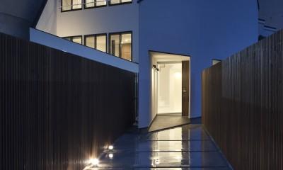 建物探訪で放送 目黒のスキップフロアの家 ハコノオウチ13