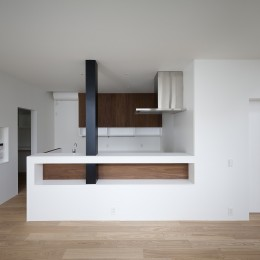 建物探訪で放送 目黒のスキップフロアの家 ハコノオウチ13 (対面木キッチン)