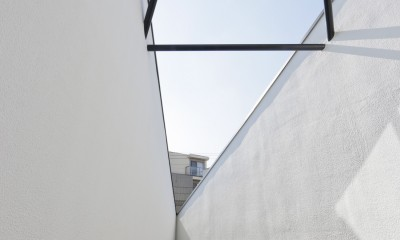 建物探訪で放送 目黒のスキップフロアの家 ハコノオウチ13 (テラス)