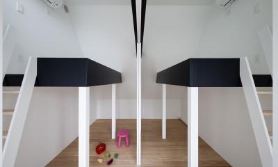 建物探訪で放送 目黒のスキップフロアの家 ハコノオウチ13 (子供室)