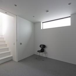 建物探訪で放送 目黒のスキップフロアの家 ハコノオウチ13 (地下の主寝室)