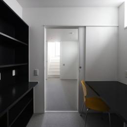建物探訪で放送 目黒のスキップフロアの家 ハコノオウチ13 (書斎)