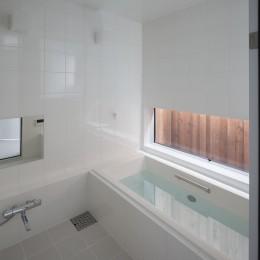 建物探訪で放送 目黒のスキップフロアの家 ハコノオウチ13 (浴室)