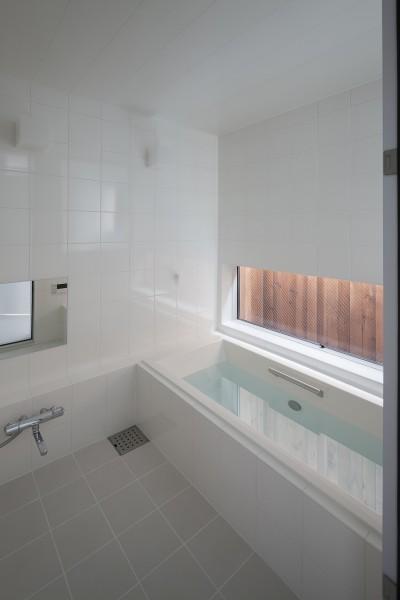 浴室 (建物探訪で放送 目黒のスキップフロアの家 ハコノオウチ13)