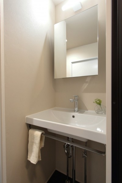 洗面室 (自分らしい暮らしを形にした中古マンションリノベーション)