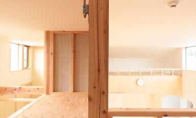 休耕地の家|ロフト4|休耕地に建つ女性のための住宅