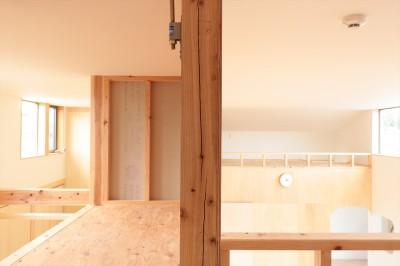 休耕地の家|ロフト4 (休耕地に建つ女性のための住宅)