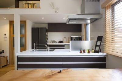 キッチン (緑と風があふれる家)