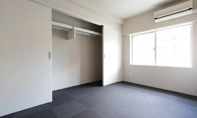 ベッドルーム クローゼット|自分らしい暮らしを形にした中古マンションリノベーション