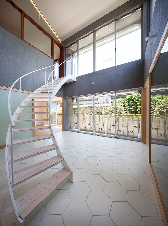 吉祥寺の住宅 (階段ホール)