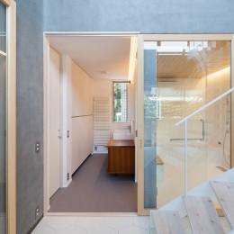 吉祥寺の住宅 (洗面、浴室)