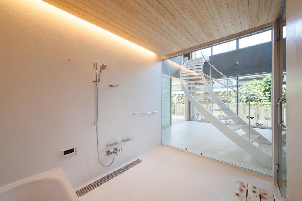 吉祥寺の住宅 (浴室)