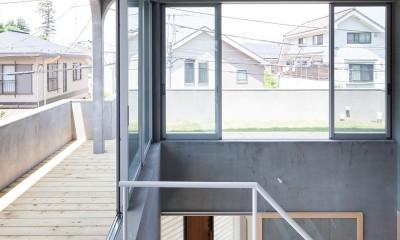 吉祥寺の住宅 (屋上テラス)