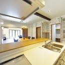 集う家(フレキシブルリビング)の写真 キッチン