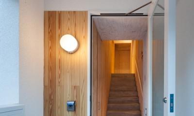 西原戸建てリノベーションPJ (玄関)