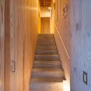 西原戸建てリノベーションPJの写真 階段