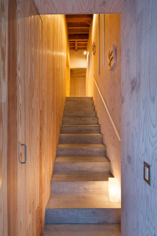 西原戸建てリノベーションPJ (階段)