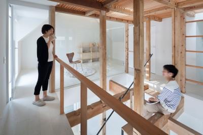 階段室 (白山戸建てリノベーションPJ)