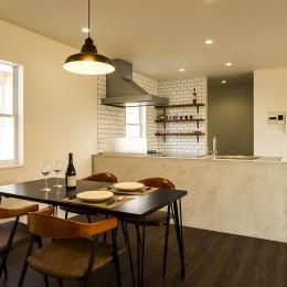 DINING&KITCHEN (インテリアを愉しむブルックリンスタイルな空間)