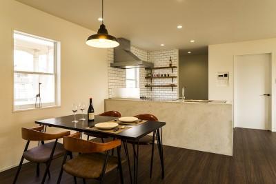 インテリアを愉しむブルックリンスタイルな空間 (DINING&KITCHEN)