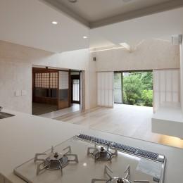 綾瀬の住宅 (リビング,ダイニング,キッチン)