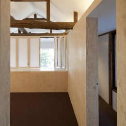 綾瀬の住宅 (寝室)