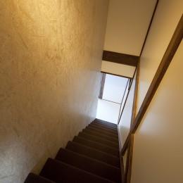 綾瀬の住宅 (階段)