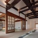 上三川町の民家の写真 土間