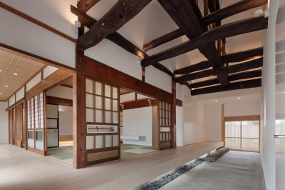 土間 (上三川町の民家)