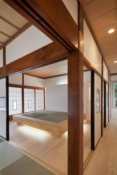親世帯 寝室 (上三川町の民家)