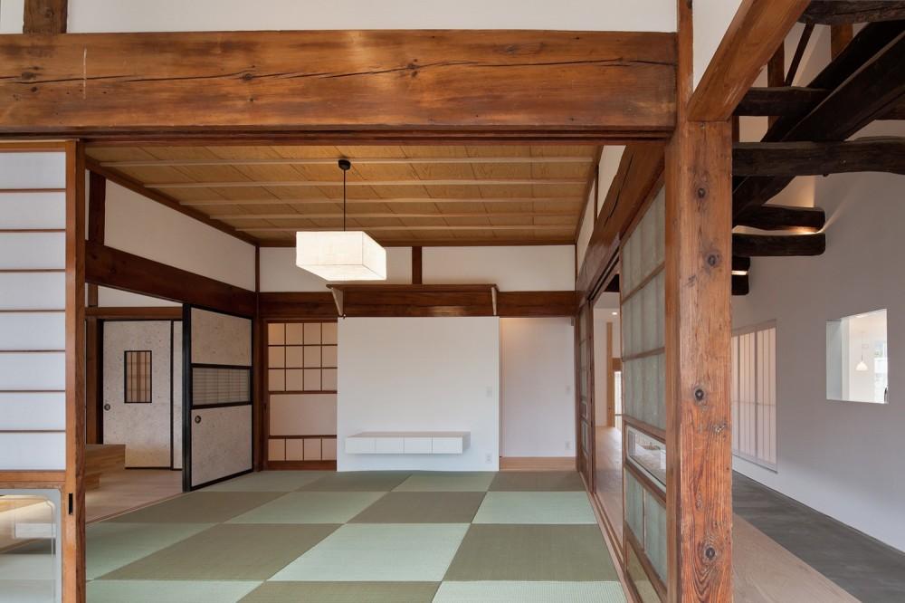 上三川町の民家 (和室)