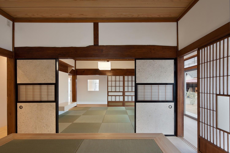 ベッドルーム事例:親世帯 寝室(上三川町の民家)