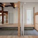 上三川町の民家の写真 玄関
