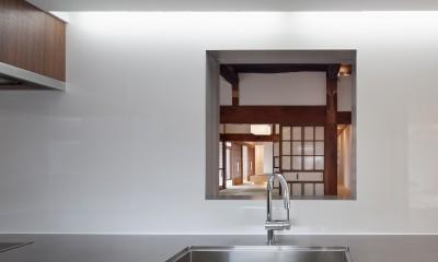 上三川町の民家 (キッチン)