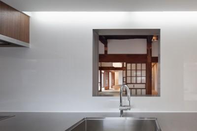 キッチン (上三川町の民家)