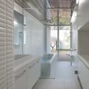 上三川町の民家の写真 洗面・浴室