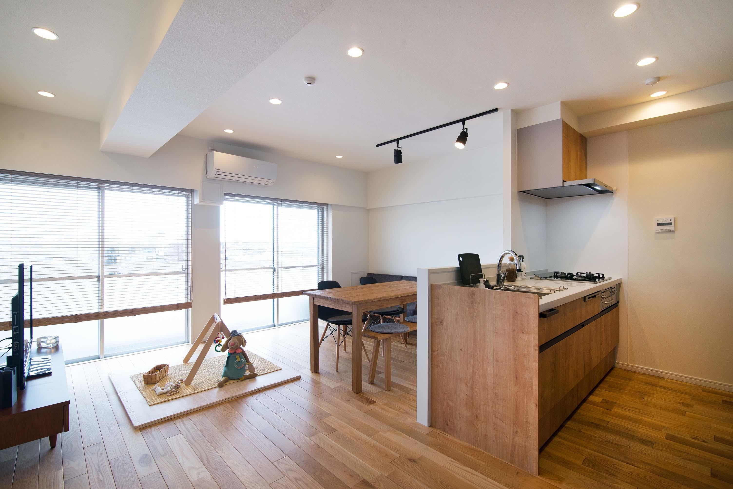 キッチン事例:キッチン(リノベ+リノベで好みのお部屋に)
