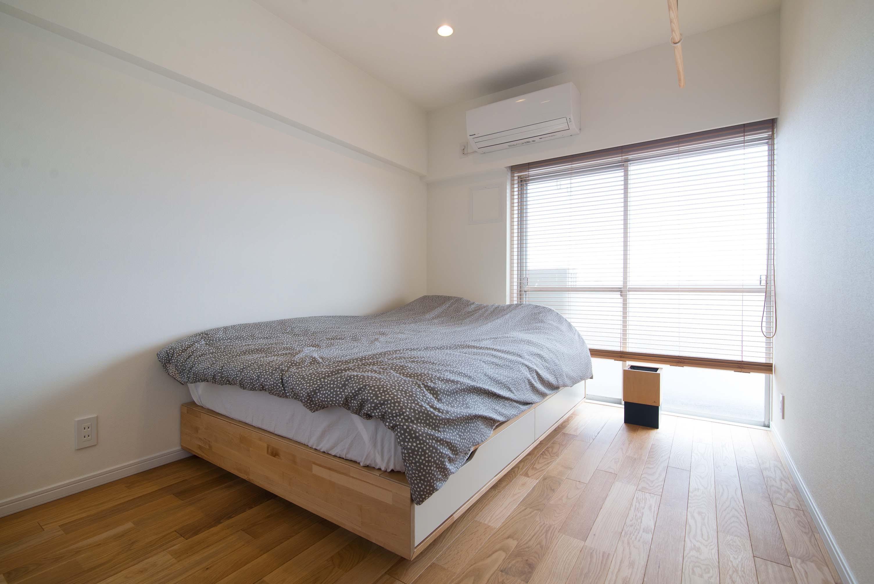 ベッドルーム事例:寝室(リノベ+リノベで好みのお部屋に)