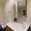 リノベ+リノベで好みのお部屋にの写真 洗面台