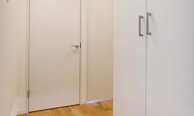 リノベ+リノベで好みのお部屋に (玄関)