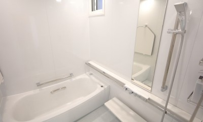 バスルーム|ホワイトを基調としたバスルーム