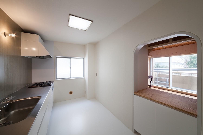 キッチン事例:キッチン(301号室)